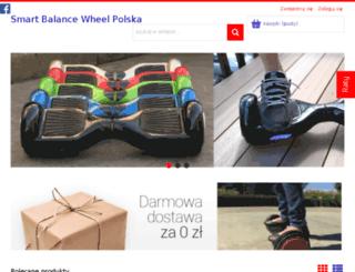 smartbalancewheel.pl screenshot