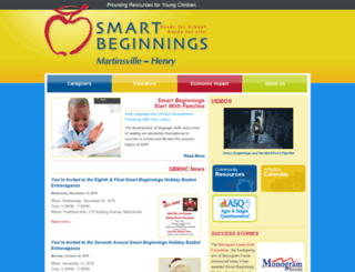 smartbeginningsmhc.org screenshot