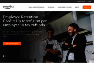 smartbizloans.com screenshot