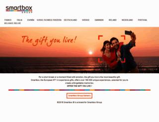 smartbox.com screenshot