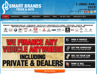 smartbrandsautogroup.flexdealer.com screenshot