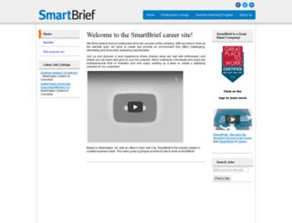 smartbriefcareers.silkroad.com screenshot