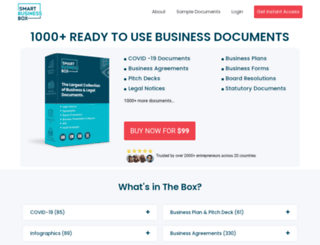 smartbusinessbox.com screenshot