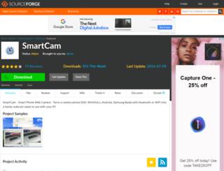 smartcam.sourceforge.net screenshot
