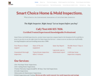 smartchoicehomeandmold.com screenshot