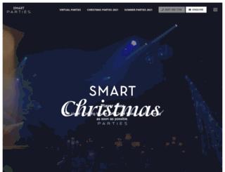 smartchristmasparties.co.uk screenshot