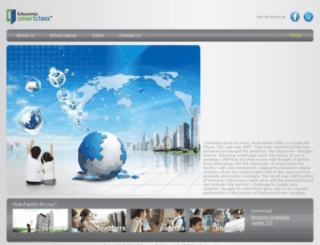 smartclass.educomp.com screenshot