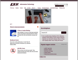 smartcomputing.eku.edu screenshot