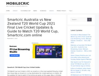 smartcric.online screenshot