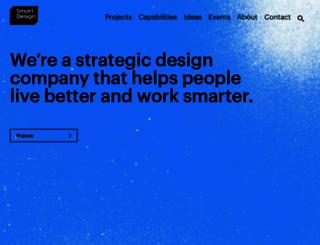 smartdesignworldwide.com screenshot