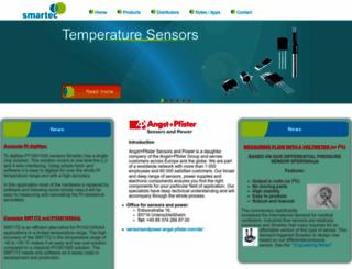 smartec-sensors.com screenshot