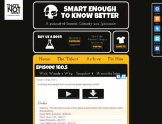 smartenough.org screenshot