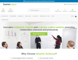 smartersurfaces.com screenshot