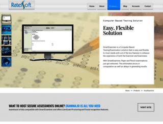 smartexaminer.ratelsoft.com screenshot