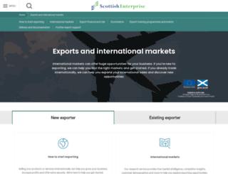 smartexporter.co.uk screenshot
