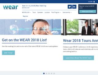 smartfabricsconference.com screenshot