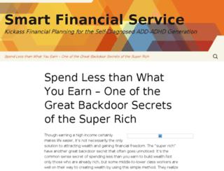 smartfinancialservice.com screenshot