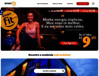 smartfit.com.br screenshot