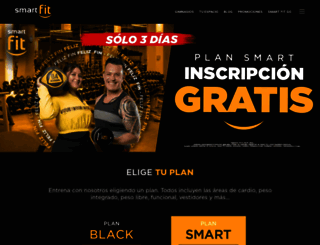 smartfit.com.mx screenshot