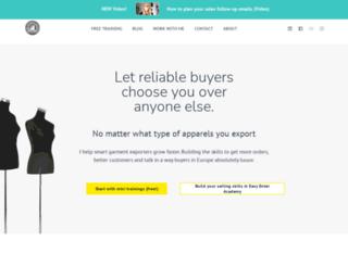 smartgarmentexporterblog.com screenshot