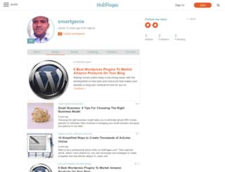 smartgenie.hubpages.com screenshot