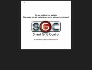 smartgridcontrol.eu screenshot
