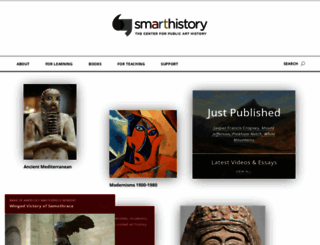 smarthistory.org screenshot