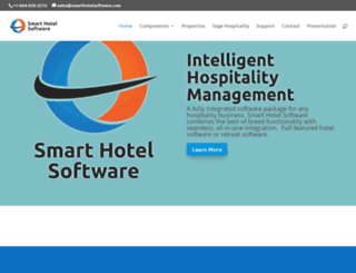 smarthotelsoftware.com screenshot