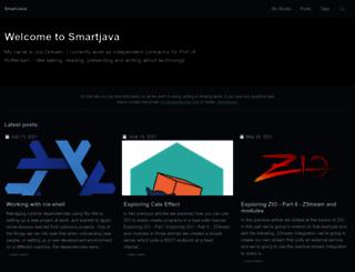 smartjava.org screenshot