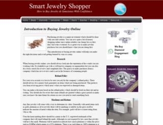 smartjewelryshopper.com screenshot