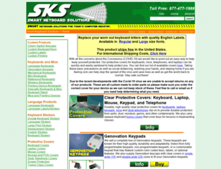 smartkeyboardsolutions.com screenshot