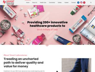 smartlaboratories.co.in screenshot