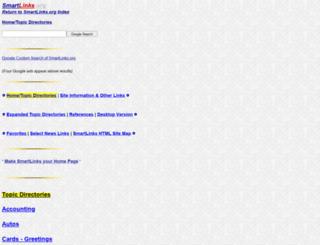 smartlinks.org screenshot