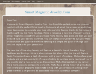 smartmagneticjewelry.com screenshot