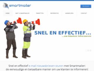 smartmailer.nl screenshot