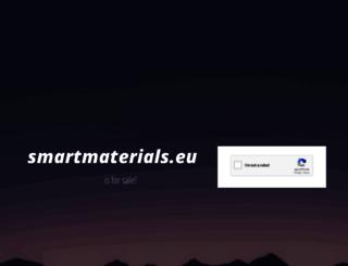 smartmaterials.eu screenshot