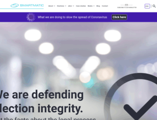 smartmatic.com screenshot