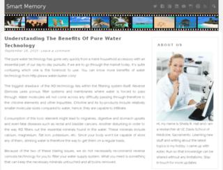 smartmemory.org screenshot