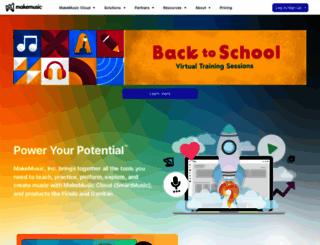 smartmusic.com screenshot