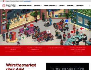 smartnation.sg screenshot