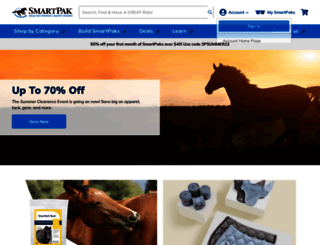 smartpak.com screenshot