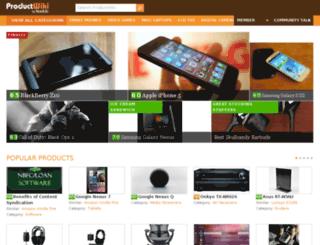 smartphones.productwiki.com screenshot