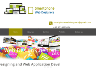 smartphonewebdesigners.com screenshot