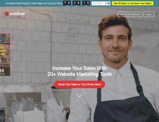 smartpopupbox.com screenshot