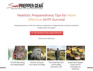 smartpreppergear.com screenshot