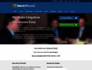 smartrules.com screenshot