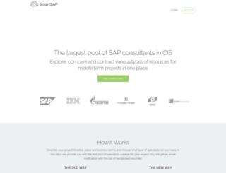 smartsap.com screenshot
