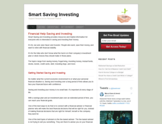 smartsavinginvesting.com screenshot