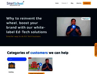 smartschoolonline.in screenshot