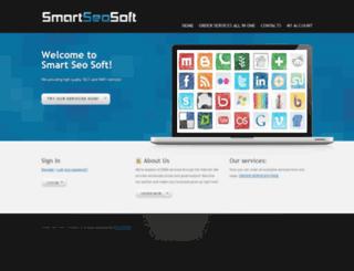 smartseosoft.com screenshot